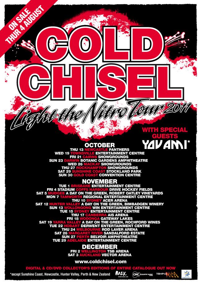 Tour - Cold Chisel